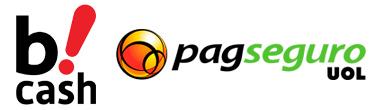 Bcash e Pagseguro - exemplos de Intermediadores Financeiros